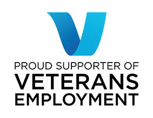 Proud supporter of Veterans Employment